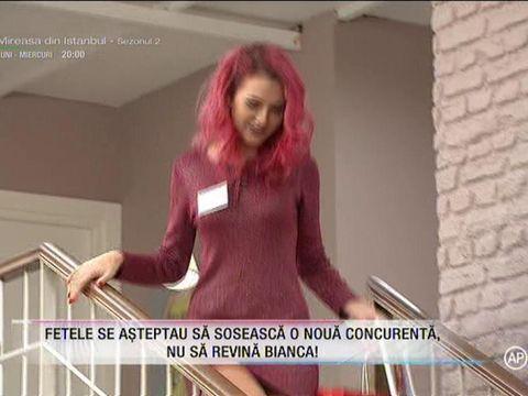 """Bianca s-a întors în casa Puterea Dragostei şi a început războiul! """"Îmi vine să mă duc acum să o iau de păr. E moartea roz"""""""