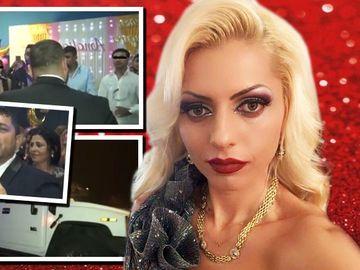 Botez de poveste lângă Milano! Nicoleta Guţă a cântat la o sală de bowling! Fiica lui Robot, creştinată de naşul Vaticanul!