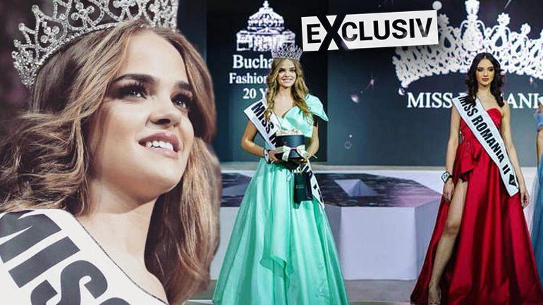 Miss Romania, în lacrimi! Motivul pentru care frumoasa femeie nu s-a putut opri din plans pe scenă! VIDEO EXCLUSIV