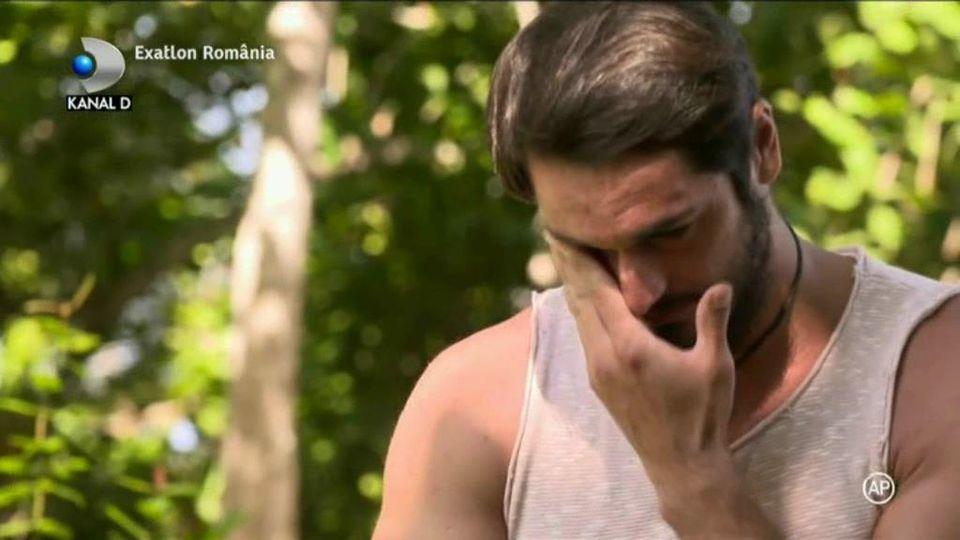 Exatlon 9 decembrie. Alin Andronic, în lacrimi! Şi-a povestit drama! Pentru cine ar vrea să câştige concursul