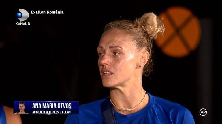 Exatlon 9 decembrie. Ana Otvoş părăseşte competiţia! Accidentarea la umăr i-a fost fatală: