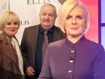 Văduva lui Cristian Ţopescu arată senzaţional la 52 de ani! Uite cât de elegantă este Christel îmbrăcată într-o tunică mov!