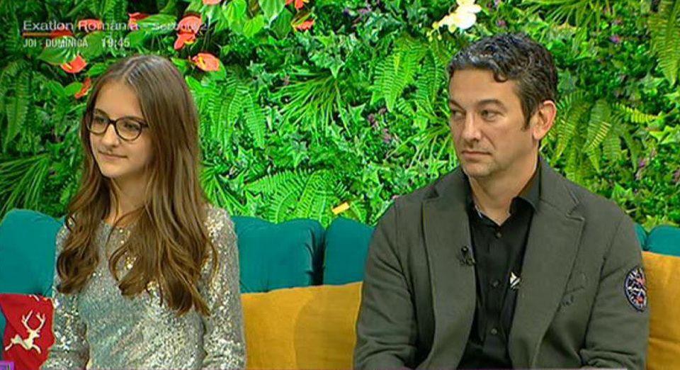 Medicul Radu Zamfir şi fiica lui, la Teo Show! Ce fel de tată este eroul din Apuseni?