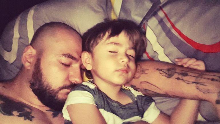 Imagini spectaculoase de la întâlnirea fiului Andreei Mantea cu tatăl său, Cristi Mitrea