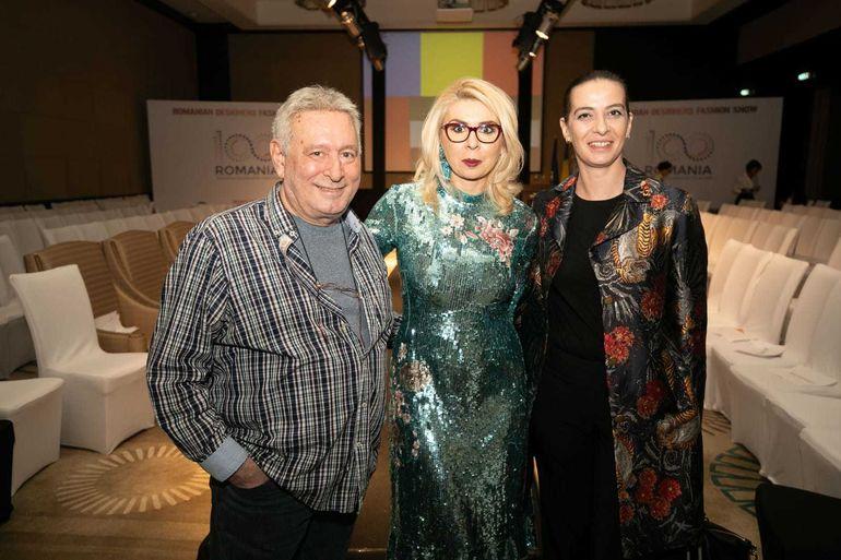 Catalin Botezatu şi designerii români, primiţi de familia regală din Emiratele Arabe Unite! Seară românească de modă în Dubai!