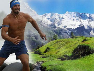 """Alin Andronic s-a pierdut în Alpi! """"Razboinicul"""" de la Exatlon şi-a filmat aventura incredibilă din munţi VIDEO"""