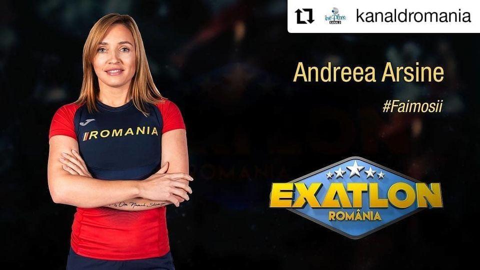 Exatlon sezonul 3! Faimoasa Andreea Arsine, de la Poşta Română, la Jocurile Olimpice, în doar doi ani! Destinul sportivei, marcat de moartea tatălui ei