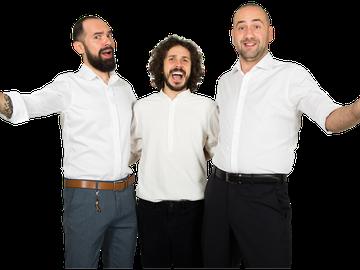 """Alex Mocanu şi Raul Gheba, opening act-ul pentru mega-show-ul de Stand-Up """"100% păreri"""" FOTO!"""