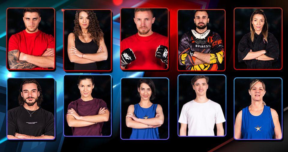 Astăzi, de la 20.00, începe EXATLON sezonul 3! Ei sunt cei 10 Faimoşi care îi înfruntă pe cei 10 Războinici