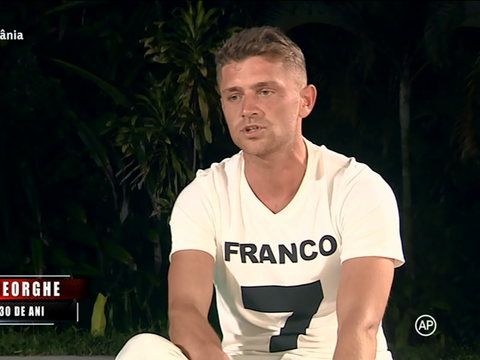 """Drama lui Costin Gheorghe de la Exatlon! E cutremurător ce se ascunde în spatele tricoului cu """"Franco"""" purtat la testimoniale. Are legătură cu familia lui Pepe"""