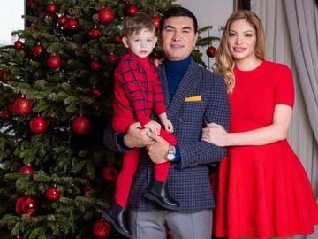 Valentina Pelinel, imagine hot alături de soţ şi copil! Ce mesaj îi transmite graviduţa lui Cristi Borcea de ziua lui