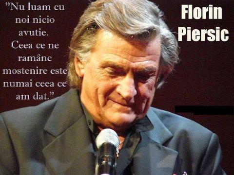 """Florin Piersic, distrus la 83 de ani! Se apropie ziua: """"Ce păcat!"""""""