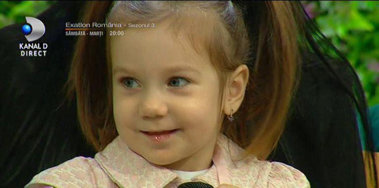 Andreea Tonciu, cu fetiţa la spital!
