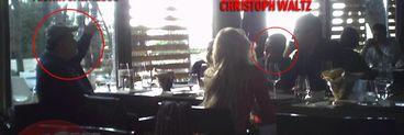 Christoph Waltz, castigatorul Premiului Oscar in 2010, s-a relaxat in Bucuresti intr-un restaurant de fite