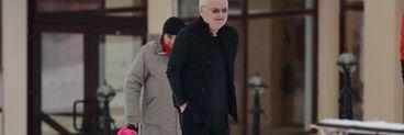 Poveste de iarna! Imagini de colectie cu Irinel Columbeanu si fetita sa la munte! A plimbat-o cu sania si i-a facut Irinei toate poftele