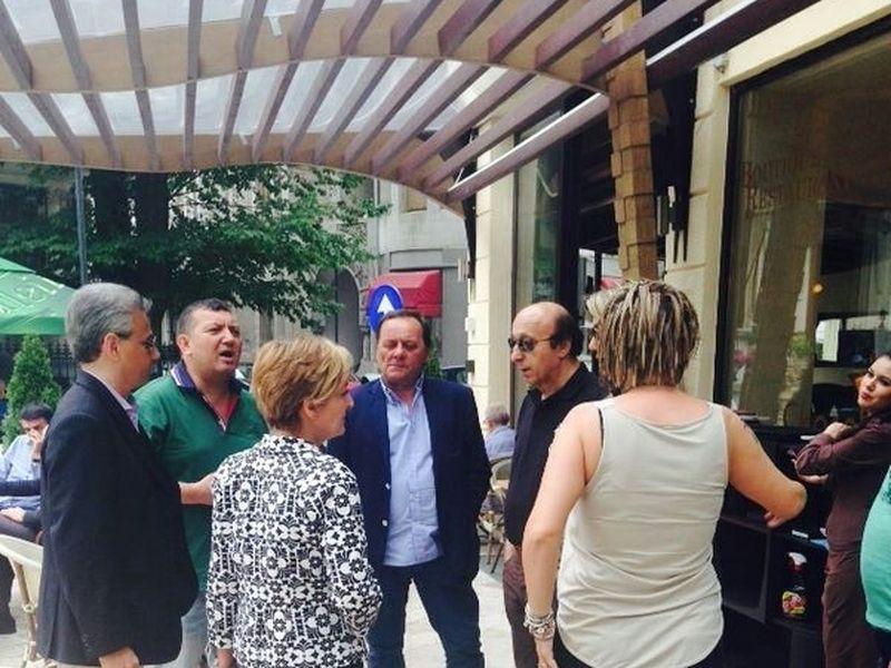 Intalnire cu omul italian