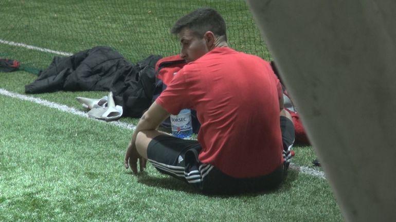 VIDEO EXCLUSIV! Terapie prin sport! Cum incearca Alin Cocos sa treaca peste durerea pricinuita de arestarea tatalui sau