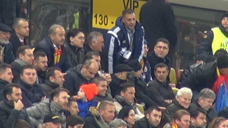 VIDEO! Burleanu, presedintele-suporter! Vezi cum a trait seful FRF meciul Romania - Irlanda de Nord 2-0