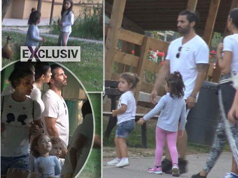 Latino lover-ul Pepe de pe scena se transforma in super-taticul cand e cu fetitele sale! Imagini de colectie cu artistul si familia lui VIDEO EXCLUSIV