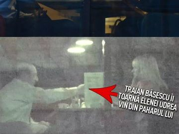 Dovada că Elena Udrea a ţinut legătura cu Traian Băsescu până la plecarea în Costa Rica! Cei doi au luat masa împreună în timpul protestelor! VIDEO EXCLUSIV
