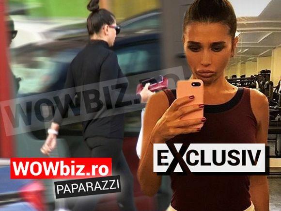 Elena Băsescu, în colanţi, pe stradă! E incredibil de sexy, nici nu zici ca are trei copii! VIDEO EXCLUSIV