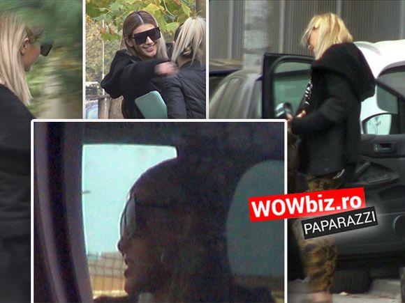 WOW! Cât de bine arată Alina Eremia! Pleacă veselă de la o întâlnire însă se enervează în trafic VIDEO
