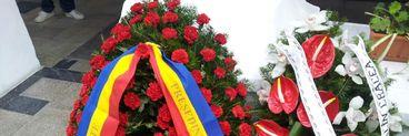 Traian Basescu a trimis o coroana de flori pentru Serban Ionescu!