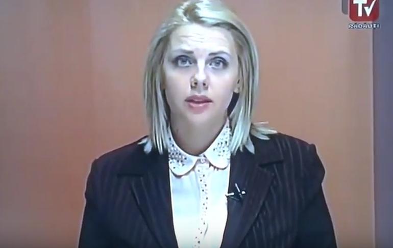 Prezentatoarea asta din Romania s-a facut de ras, in direct la TV! Prezenta stirile cand dintr-o data si-a dus mana la gura si... (VIDEO)