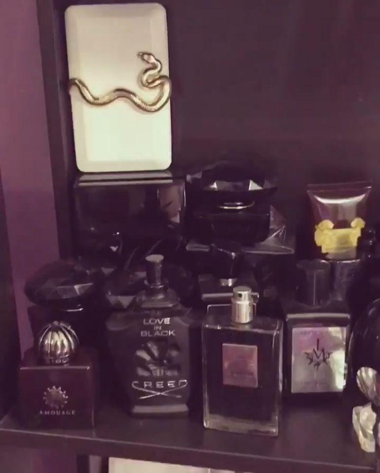 Loredana Chivu are o colectie impresionanta de parfumuri! Sunt sute la numar! Video!