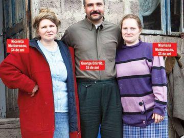 George Chirila, barbatul cu doua neveste, marturisiri din dormitor. Cum face amor cu cele doua sotii surori?