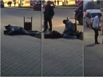 """Viol pe strada la Pascani! Nimeni nu a vrut sa o ajute pe tanara care era agresata de un individ! Doi tineri au inceput sa rada: """"Femeia e virgina si se teme"""""""