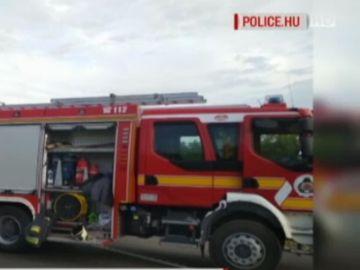 El este soferul! In accidentul din Ungaria au murit noua oameni in timp ce el era live pe facebook si facea o depasire