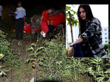 Andreea Denisa Olaru, tanara ucisa de fiul judecatorilor din Craiova, inmormantata in negru