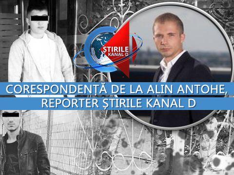 Aşa arată CASA GROAZEI, locul triplului asasinat din Călăraşi! Corespondenţă de la reporterul Ştirilor Kanal D, Alin Antohe