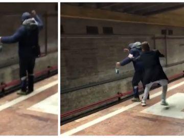 Momente halucinante în Bucureşti! Un bărbat a fost salvat de la moarte, după ce a vrut să se arunce în faţa metroului. Un tânăr l-a oprit în ultimul moment