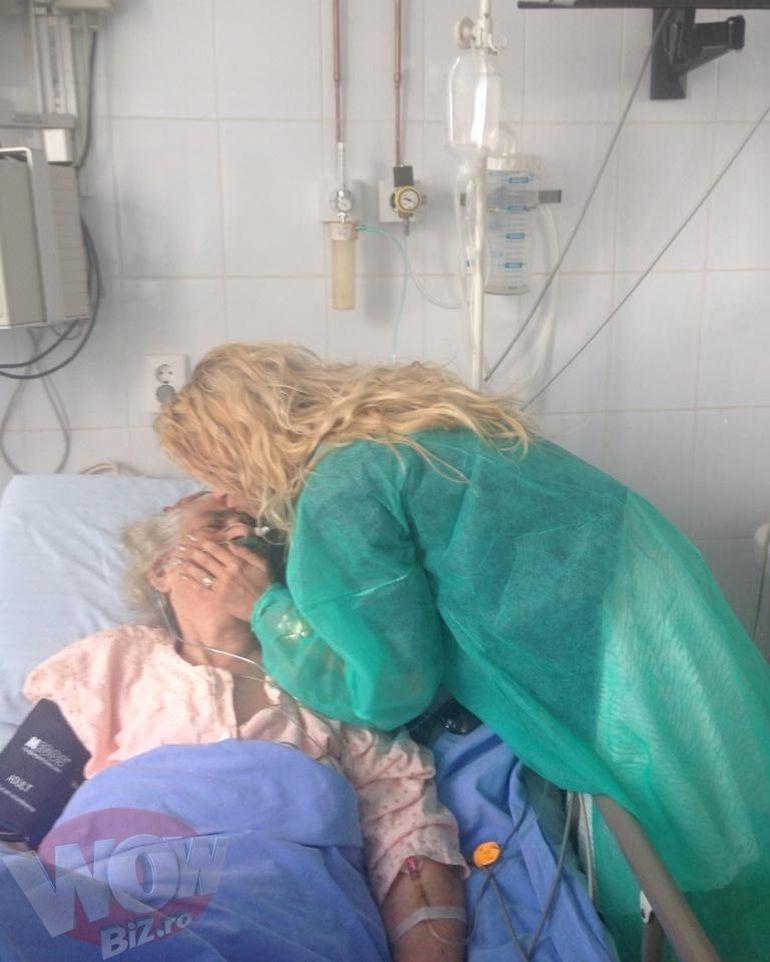 Primele imagini cu Andreea Balan dupa scandalul cu Misty si Keo! Distrusa de durere, s-a dus sa-si vada bunica grav bolnava, la spitalul din Galati!