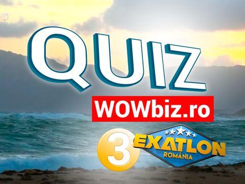 WOWQuiz #3 Exatlon Exclusiv