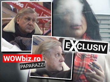 Iubita, la fumat, Ilie Năstase - cu ochii după femei! Momente incredibile la un mall bucureștean! La 72 ani, fostul tenisman arată că încă... poate VIDEO EXCLUSIV