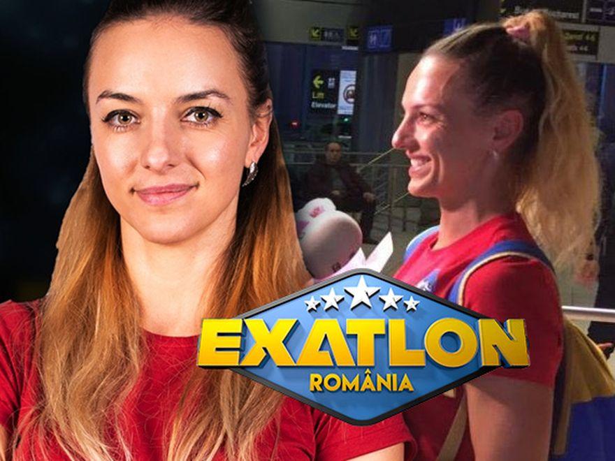 Faimoasa Diana Pivniceru s-a întors de la Exatlon! Primele imagini cu sportiva în România
