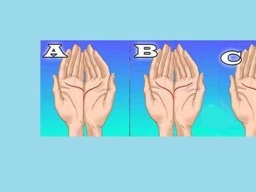 Priveste-ti mainile si urmareste liniile din imagine! Afla MESAJUL special pentru tine