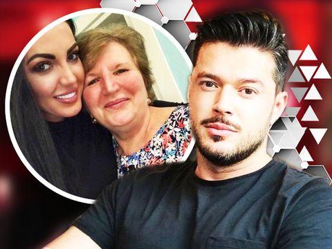 """Toată lumea ştie cum arată iubita sexy a lui Victor Slav, dar cum ţi se pare """"soacra""""? Mama Ralucăi are un simţ al umorului pe cinste! FOTO!"""