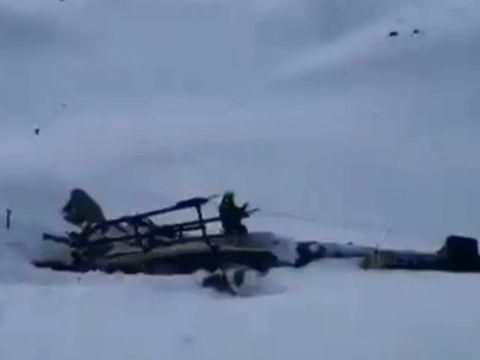 Accident aviatic cumplit! 5 oameni au murit, după ce un avion și un elicopter s-au ciocnit