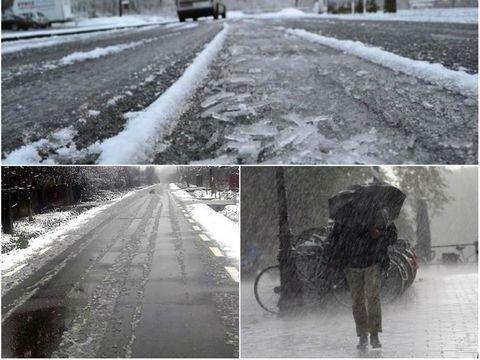 Cod GALBEN de vreme severă în opt județe din țară! Ploaie înghețată, polei și ceață