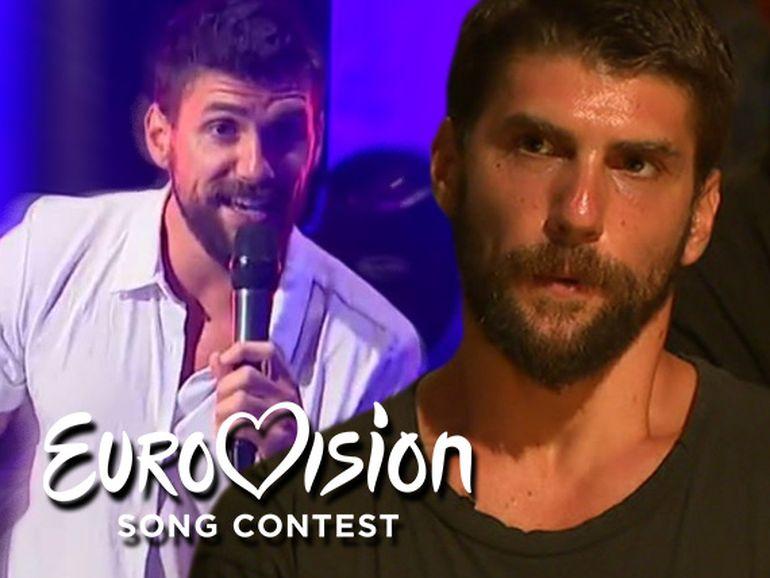 Bruce, fostul concurent de la Exatlon, se pregătește de Eurovision