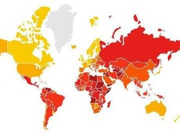 Topul celor mai corupte țări din lume. Pe cel loc se află România