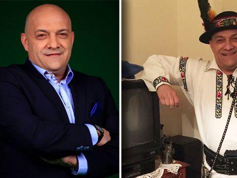 Cum arată Gabi Balint îmbrăcat în costum popular din Bistriţa Năsăud! Uite-l pe fostul mare fotbalist cu pălărie cu pană de păun pe cap!