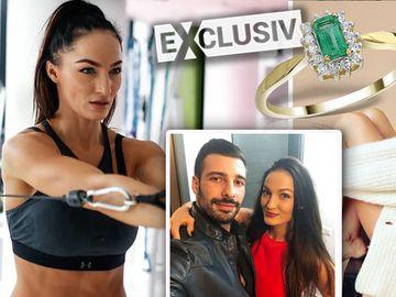 Beatrice Olaru a primit inelul de logodnă! Nunta cu iubitul ei va fi în această primăvară! EXCLUSIV
