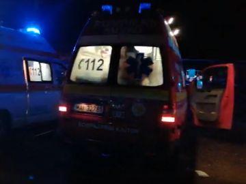 Explozie urmată de incendiu, la o secţie de încărcare butelii: Zece răniţi/ Patru persoane, intubate în urma deflagraţiei de la Ştei