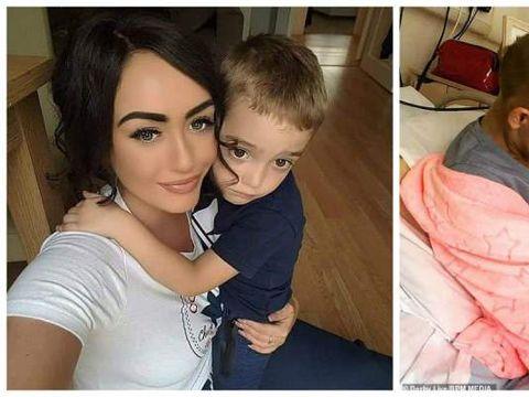 """Sfâșietor! """"Mami o să moară"""". Naomi i-a spus fiului ei de 6 ani că suferă de cancer. Reacția micuțului te va face să plângi"""