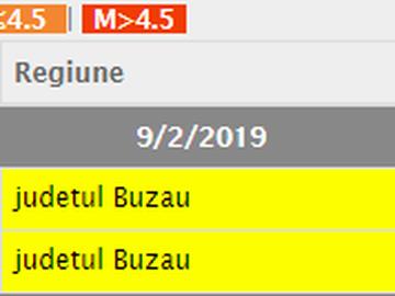 Cutremur în această seară în România! Câte grade a avut seismul